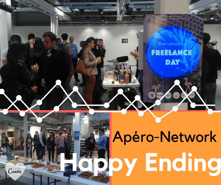 Freelance Day Paris 2017 Apero