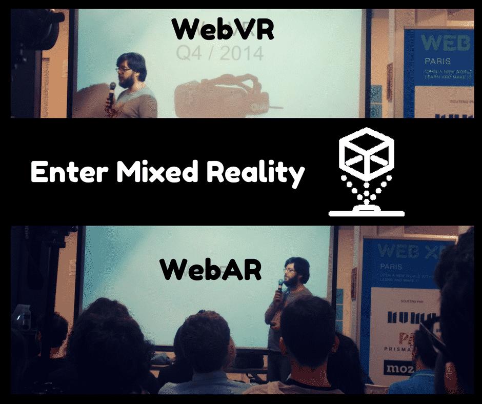 WebXR & WebAR Conference Numa Paris
