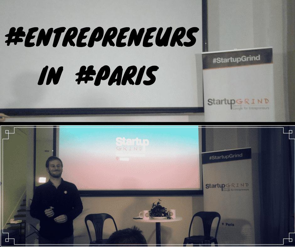 StartUp Grind Entrepreneurs Paris